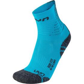 UYN Run Fit Socks Women blue atoll/pearl grey